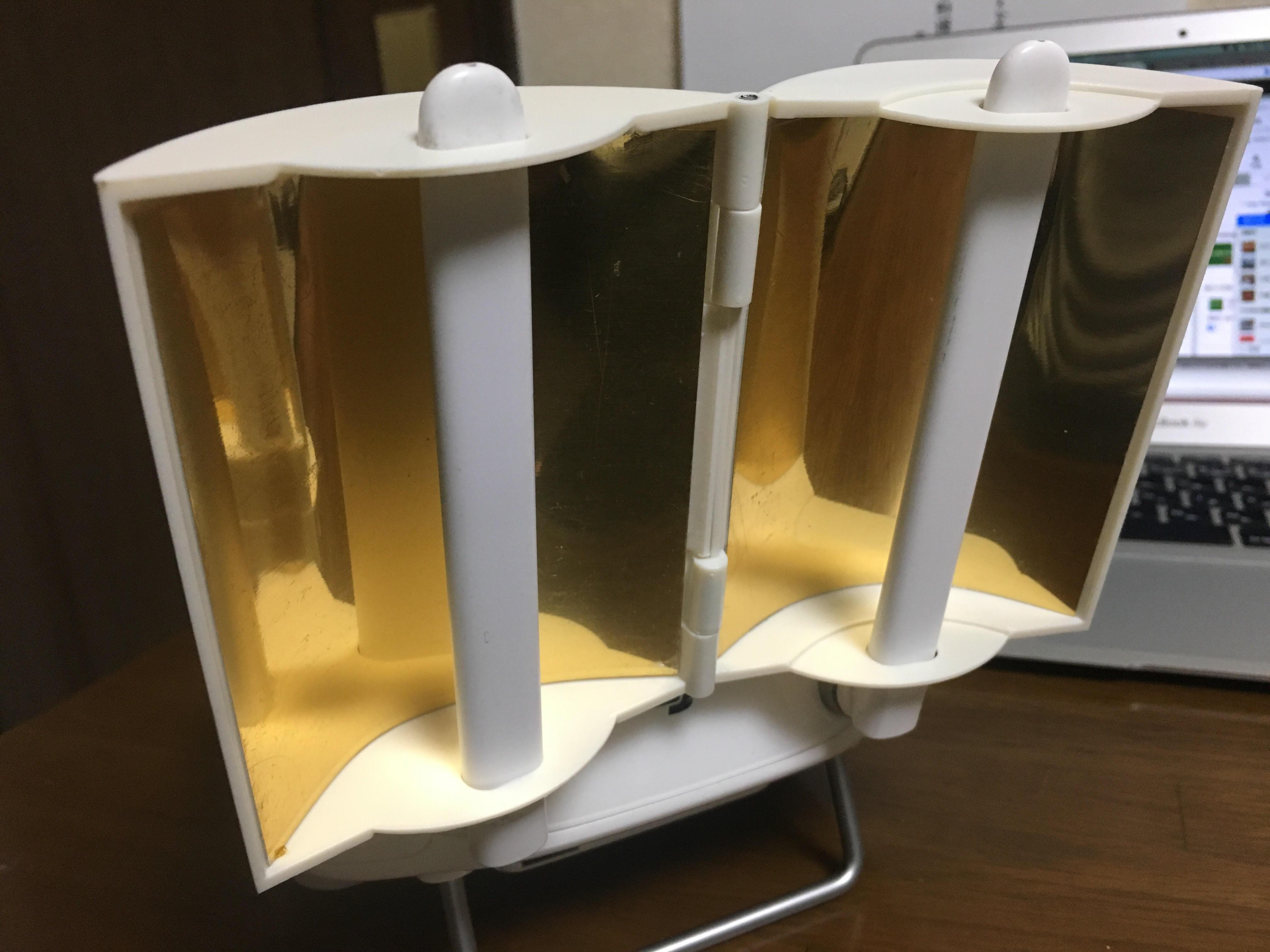 アンテナレンジブースター エクステンダー リモコンFPV信号ブースター (ゴールデン)