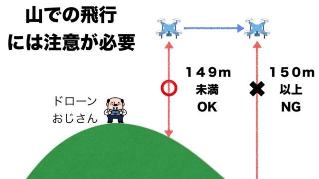 山でドローン空撮する上で知っておきたい4つの注意点(高度・許可・リスク)