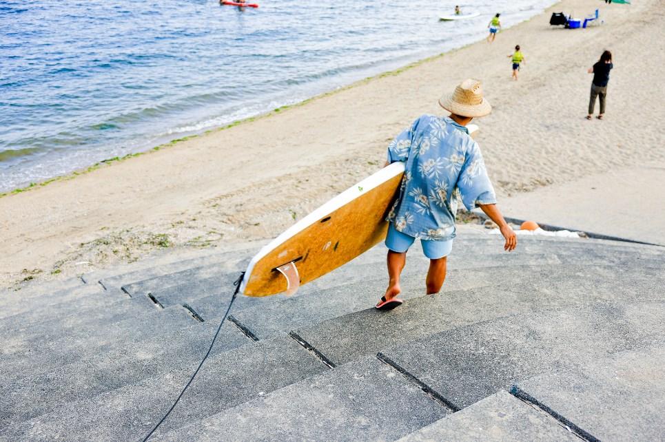 海のマリンスポーツSUPをドローンで空撮する時の9つのポイント